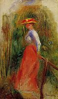 Woman in a Landscape, renoir