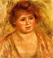 Woman`s Head, 1919, renoir