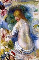 Woman-s Nude Torso, renoir