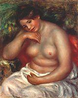 Woman sleeping, c.1900, renoir
