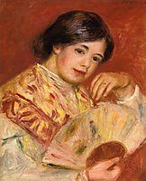 Woman with a Fan, c.1906, renoir