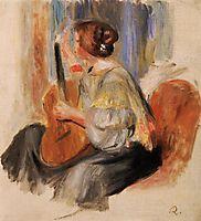 Woman with Guitar, renoir