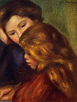 The Writing Lesson, 1895, renoir