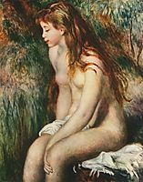 Young Bather, 1892, renoir