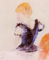 Young Blond Girl, 1890, renoir