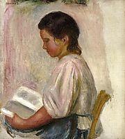 Young Girl Reading, 1904, renoir