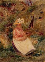 Young Girl in the Woods, c.1910, renoir