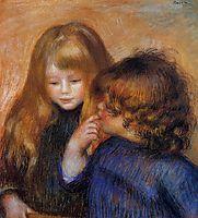 Young gypsy girls, c.1902, renoir