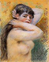 Young Woman at Her Toilette, c.1885, renoir