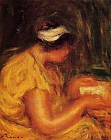 Young Woman Reading, renoir