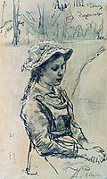 Ada girl, 1882, repin