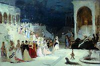 Ballet scene, 1875, repin