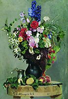 A bouquet of flowers, 1878, repin