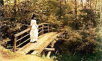 Bridge in Abramtsevo, 1879, repin