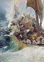 Cossacks on the Black Sea, 1908, repin