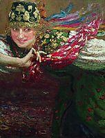 Dancing woman, repin