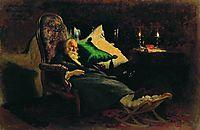 Death of Fedor Chizhov , 1877, repin