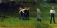 The Duel, 1897, repin