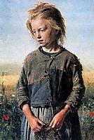 A Fisher Girl, 1874, repin