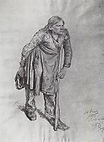 Hunchback, 1882, repin