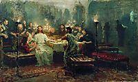 Last Supper, 1903, repin