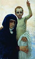 Madonna with Child, 1896, repin