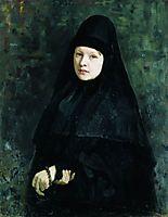 Nun, 1878, repin