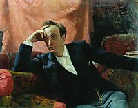 Portrait of actor and dramatist Grigory Grigorievich Ghe, 1895, repin