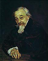 Portrait of Artist Vladimir Samoilov, 1902, repin