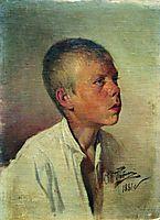 Portrait of a Boy, 1881, repin