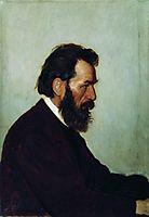 Portrait of A.I. Shevtsov, 1869, repin