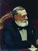 Portrait of Ivan Ivanovich Shamshin, 1902, repin