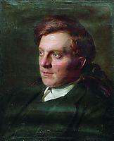 Portrait of Ivan Timofeevich Savenkov in his St. Petersburg university student, repin
