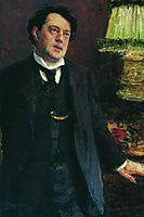 Portrait of lawyer Oskar Osipovich Grusenberg, repin
