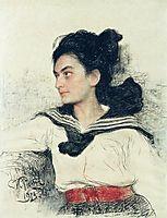 Portrait of Maria Osipovna Lowenfeld, repin