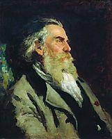 Portrait of A.P. Bogolyubov, 1882, repin
