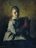 Portrait of S.A. Repina, repin