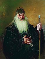 Portrait of the Surgeon Nikolay Pirogov, 1881, repin