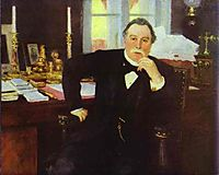 Portrait of V. K. Pleve, 1902, repin