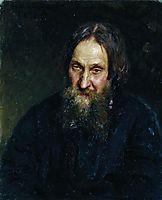 Portrait of Vasily Kirillovich Syutayev, 1882, repin
