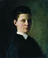 Portrait of a Woman, 1874, repin