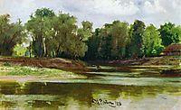River Bank, repin