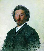 Self-Portrait, repin