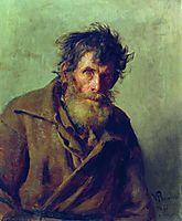 A Shy Peasant, 1877, repin