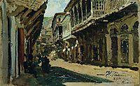 Street in Tiflis, 1881, repin