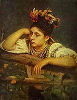 Ukranian Girl, 1875, repin