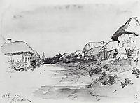 The Village of Mokhnachi, 1877, repin