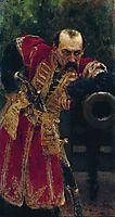 Zaporizhian colonel , 1880, repin