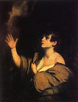 The Calling of Samuel, c.1776, reynolds