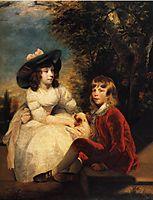 The Children of John Julius Angerstein, 1783, reynolds